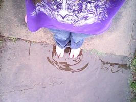 Playin in the puddle by emogirl232