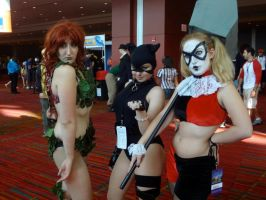 Gotham Sirens by aqueenwithnocrown