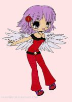 Delilah Chibi Colored by Maiko-Girl