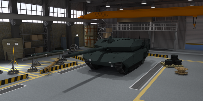 Tank Garage (Complete) by TheoComm