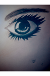 Realistic Female Eye by DradonX90