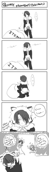 DFF - Private Moment Squall by himichu