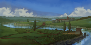 The Lythem Valley (Speedpainting 104#) by Marlon-Duarte
