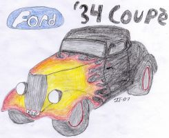 Ford '34 Coupe Hot Rod by Street-Racer