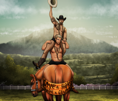 Save A Horse, Ride A Cowboy...or both... by Drasayer