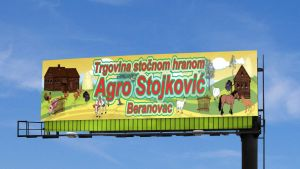 Agro Billboard by ristovicmilos