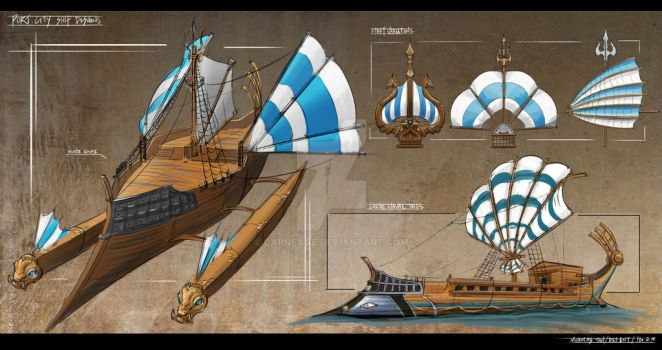 Port Ships Design Sheet by Carneage