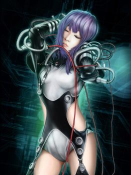 Major Motoko Kusanagi An09 by Jonathon471
