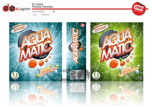 AQUAMATIC PACKAGING by curseofthemoon