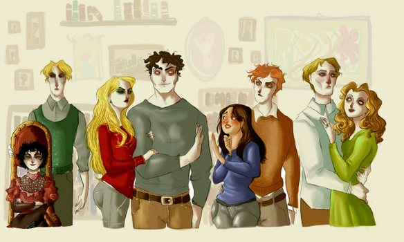 The Cullen Family by NerinaSam
