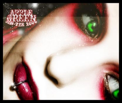 Apple green. by jin-tze