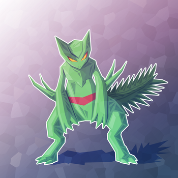 Sceptile by Hey-its-Josh
