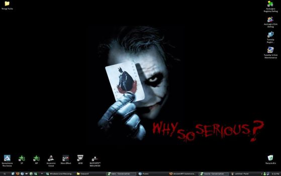 why so serious? desktop by beep-a-zoid