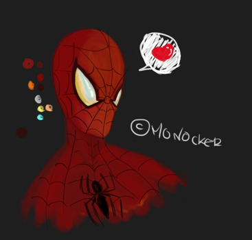 spider man love by monocker