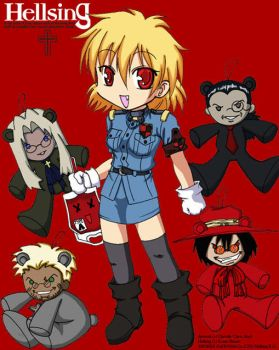 Chibi Hellsing by Chevi