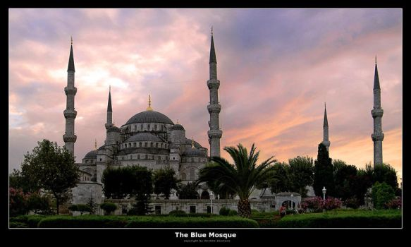The Blue Mosque by datamania