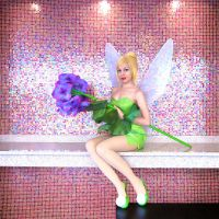 Anime Central 2013: Tinkerbell by MomoKurumi