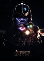 Avengers: Infinity War (2018) - Thanos Poster by CAMW1N