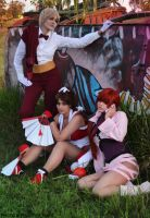 The Queens of fighters. by Shermie-Cosplay