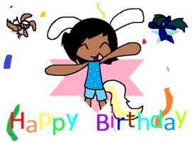 happy birthday an thing by Cutie-LoveHearts15
