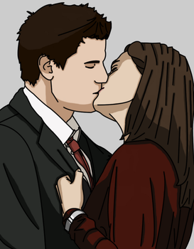 Booth and Brennan by vicky-vic