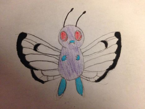 Butterfree by chanelthecat