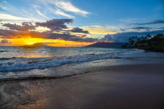 Maui Sunset I by FinelliFotography