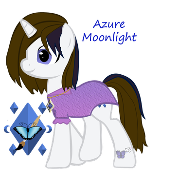 Azure Moonlight hidden wings by ebojf