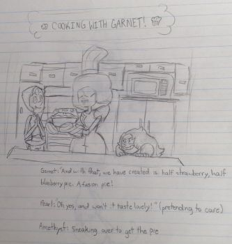 Cooking With Garnet! by torteraex