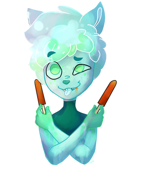 -fingerguns- popcicles up by hydella353