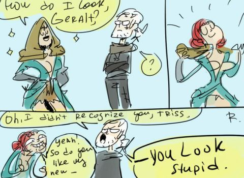 The Witcher 3, doodles 37 by Ayej