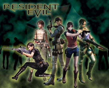 Resident Evil Ladies Pt2 by theLadyRez