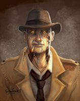 Nick Valentine by SandraMJ