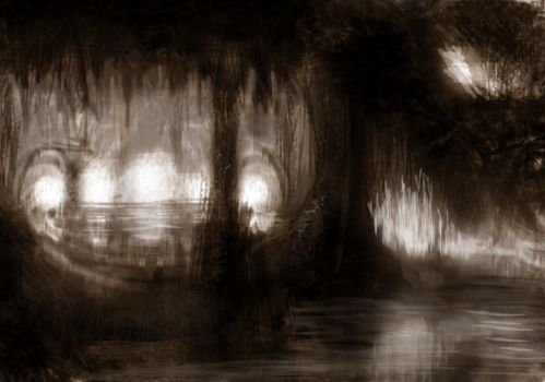 The Cave by omegaredtooth