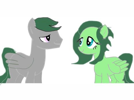 Gingersnap and I by BrohoofTheWorld