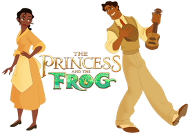 Tiana and Naveen by Nippy13