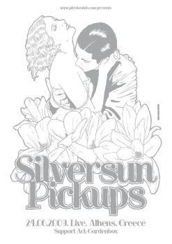 Silversun Pickups Poster by t-drom