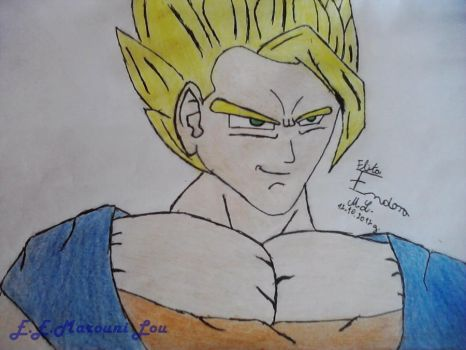 Super Saiyan 2 Astro by ElithaEndoraMarouniL