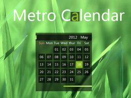 Metro_Calendar for xwidget by kenneth117
