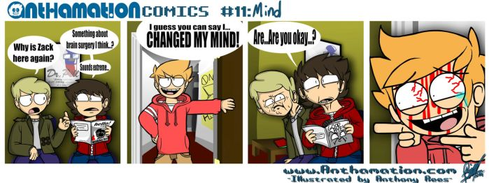 AnthaComic 11: Mind by Anthamation