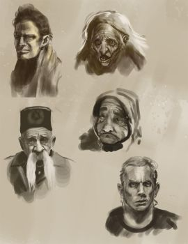 Faces by joshrother