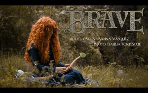 Brave Photoshoot Cover by DahliaFortescue
