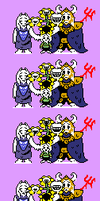 Underdust: 'Reunited' Overworld Sprites by Toad900