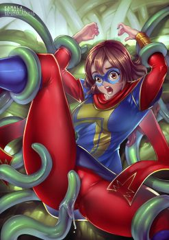 Ms Marvel Cover by bokuman