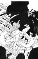 Cloak and Dagger pg1 inks by madman1