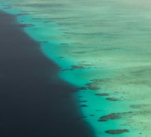 lagoon and reef by Gobbliwink