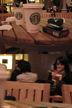starbucks by thinmanW