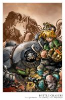 Battle Chasers by pochrzas