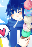 VOCALOID: Ice Cream by Aninion
