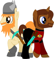 Honeydew and Xephos re-vector by Spitfire-SOS